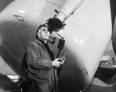 Edwin Hubble at Mount Wilson